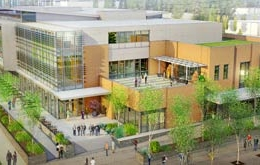 Gonzaga University Student Center design