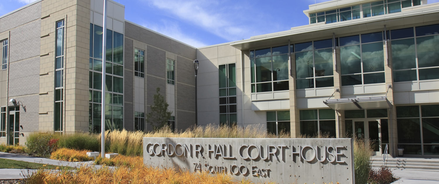 Tooele City Gordon R Hall Courthouse