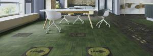 Milliken Flooring - Social Factor Carpet Tile Factor