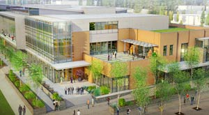 Gonzaga University Student Center design